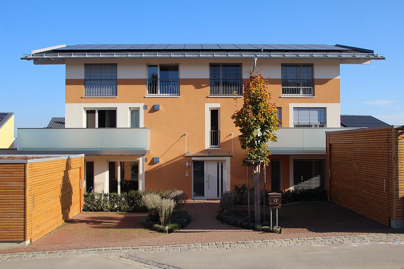 Wohngebäude Pfaffenhofen, LPh 1-8