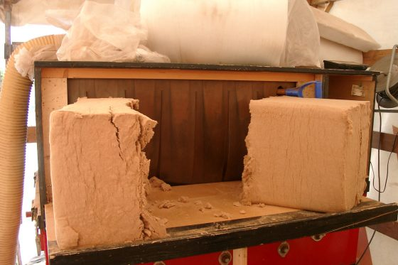 Holzfasern Einblasdämmung